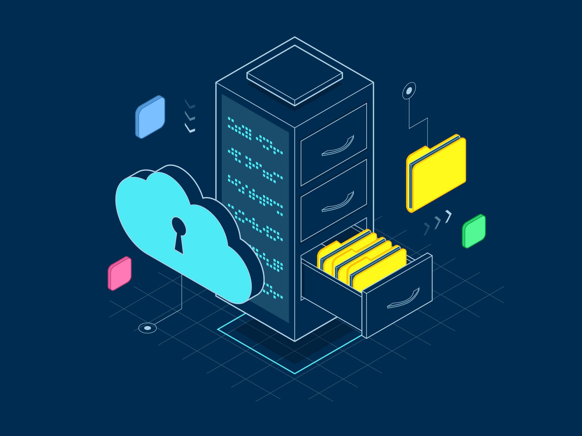 Veja as diferenças entre os tipos de servidor de arquivos